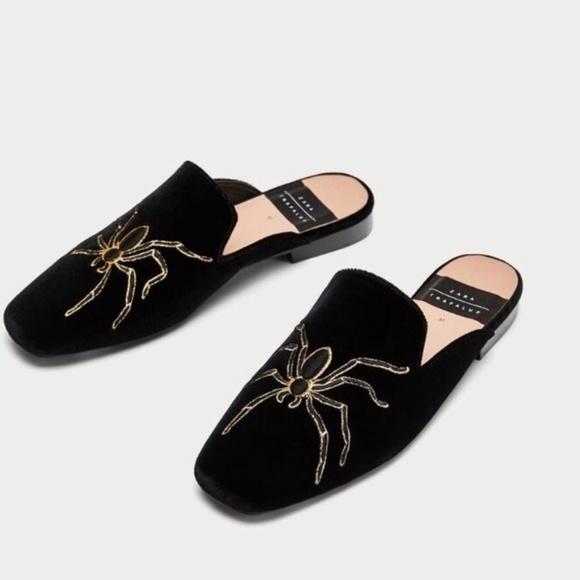 Zara Shoes | Zara Trafaluc Spider Mules
